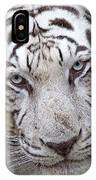 White Siberian Tiger IPhone Case