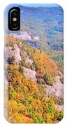 White Side Mountain Fool's Rock In Autumn IPhone Case