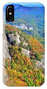 White Side Mountain Fool's Rock In Autumn Vertical IPhone Case