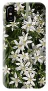White Spring Flowers IPhone Case