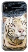 White Tiger 20 IPhone Case