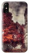 White Tower Of Autumn IPhone Case