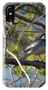 White Wagtail 2 IPhone Case