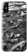 White Water Bw IPhone Case