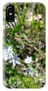 White Wild Flower IPhone Case
