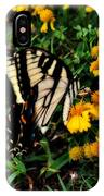 White Wing Butterfly IPhone Case