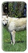 White Wolf 2 IPhone Case