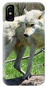 White Wolf 3 IPhone Case