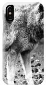 White Wolf Z IPhone Case