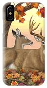 Whitetail Deer - Hilltop Retreat IPhone Case