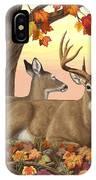 Whitetail Deer - Hilltop Retreat IPhone X Case