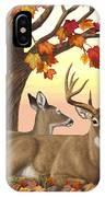 Whitetail Deer - Hilltop Retreat Horizontal IPhone X Case