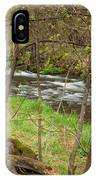 Whitewater River Spring 43 IPhone Case