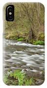 Whitewater River Spring 44 IPhone Case