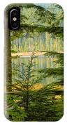 Whonnock Lake Through The Trees IPhone Case