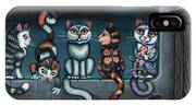 Whos Your Daddy Cat Painting IPhone Case