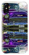 Wicked 1955 Chevy - Reflection IPhone Case