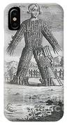 Wicker Man IPhone Case