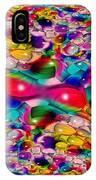 Wicker Marble Rainbow Fractal IPhone Case