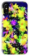 Wild Blossoms IPhone Case