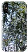 Wild Cherry Tree Blossoms On Verona IPhone Case