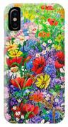 Wild Flower Meadow IPhone Case