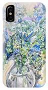 Wild Flowers #2 IPhone Case