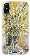 Wild Flowers #3 IPhone Case