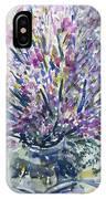 Wild Flowers #4 IPhone Case