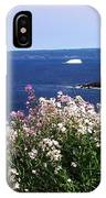 Wild Flowers And Iceberg IPhone Case