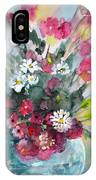 Wild Flowers Bouquet 01 IPhone Case