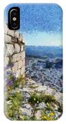 Wild Flowers On Loophole In Palamidi Castle IPhone Case
