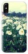 Wild Flowers White IPhone Case