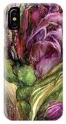 Wild Garden Tulips IPhone Case