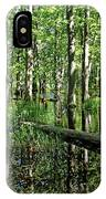 Wild Goose Woods Pond II IPhone Case