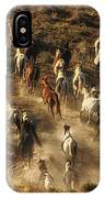 Wild Horses Gone Wild IPhone Case
