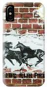 Wild Horses Running  IPhone Case