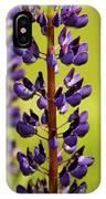 Wild Lupine IPhone Case