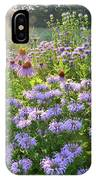 Wild Mints And Coneflowers IPhone Case
