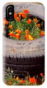 Wild Poppies Recycled IPhone Case