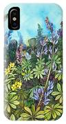 Wild Prairie Lupine IPhone X Case