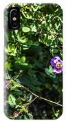Wild Rose Habitat IPhone Case