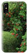 Wild Rosehips IPhone Case