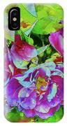 Wild Roses 3 IPhone Case