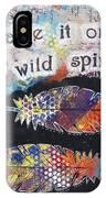 Wild Spirit IPhone Case