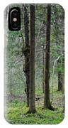 Wild Spring Forest IPhone Case