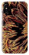 Wild Sunflower Abstract IPhone Case