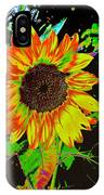 Wild Sunflower IPhone Case