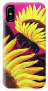 Wild Sunflowers IPhone Case