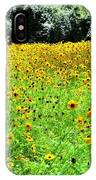 Wild Sunflowers IPhone Case